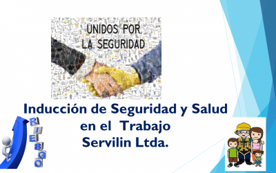 Inducción de Seguridad y Salud en el Trabajo Servilin